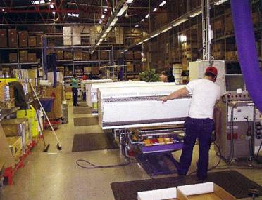 Производство завес серии HF на заводе Systemair в Швеции