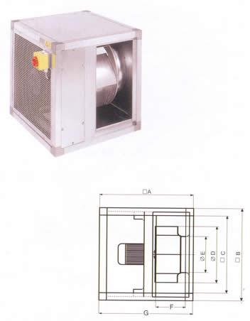 Systemair - MUB 400DV-K2 / 450DV-K2