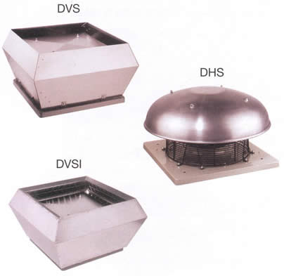 Systemair - DVS/DHS/DVSI 450