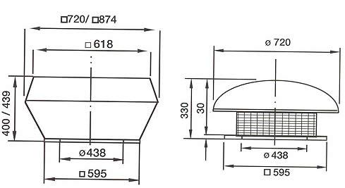Systemair - DVS/DHS/DVSI 355