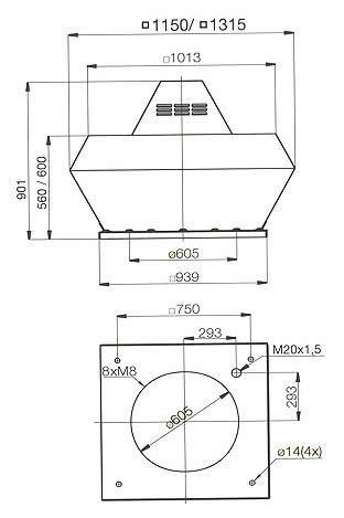 Systemair - DVN/DVNI 630