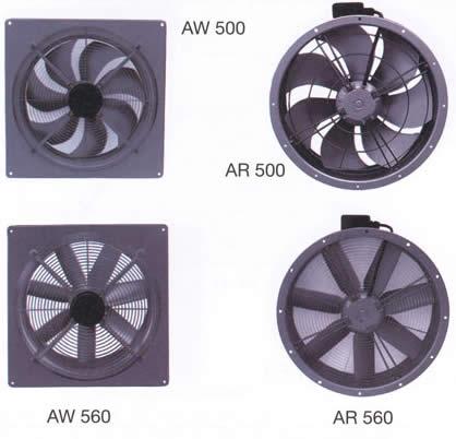 Systemair - AW/AR 500/560