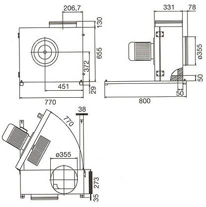 Systemair - KBR 355 E4