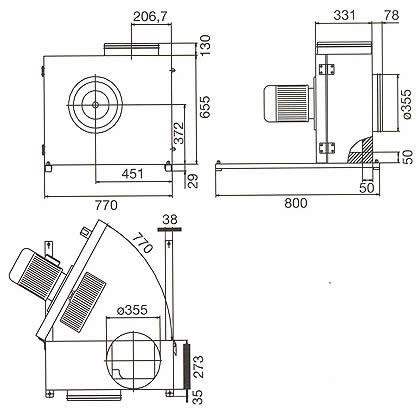 Systemair - KBR 355 DZ