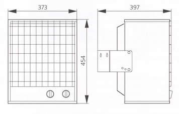 Принадлежности для тепловентиляторов Systemair HeatMaster AVR